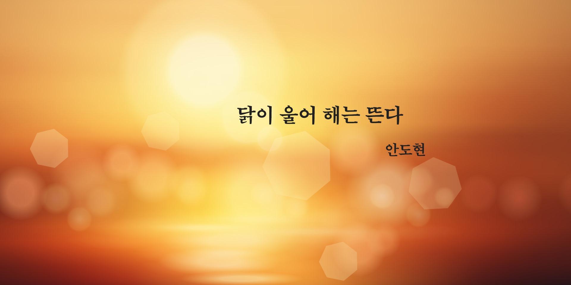[시] 안도현의